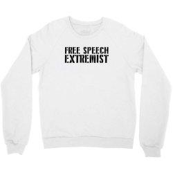 free speech extremist Crewneck Sweatshirt | Artistshot