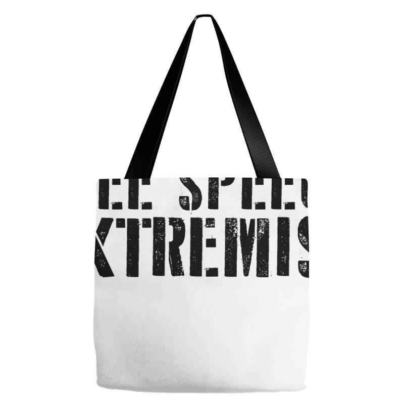 Free Speech Extremist Tote Bags | Artistshot