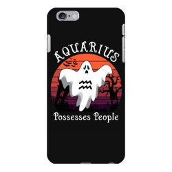 Vintage Ghost Zodiac Aquarius Funny Halloween Gift iPhone 6 Plus/6s Plus Case   Artistshot