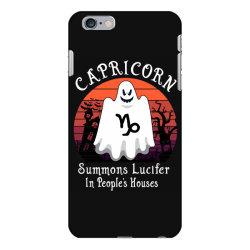 Vintage Ghost Zodiac Capricorn Funny Halloween Gift iPhone 6 Plus/6s Plus Case | Artistshot