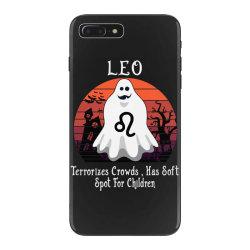 Vintage Ghost Zodiac Leo Funny Halloween Gift iPhone 7 Plus Case | Artistshot