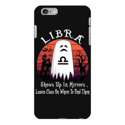Vintage Ghost Zodiac Libra Funny Halloween Gift iPhone 6 Plus/6s Plus Case | Artistshot