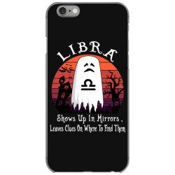 Vintage Ghost Zodiac Libra Funny Halloween Gift iPhone 6/6s Case | Artistshot