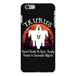 Vintage Ghost Zodiac Taurus Funny Halloween Birthday Gift iPhone 6 Plus/6s Plus Case | Artistshot
