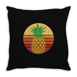 Sunset Pineapple Style Throw Pillow | Artistshot