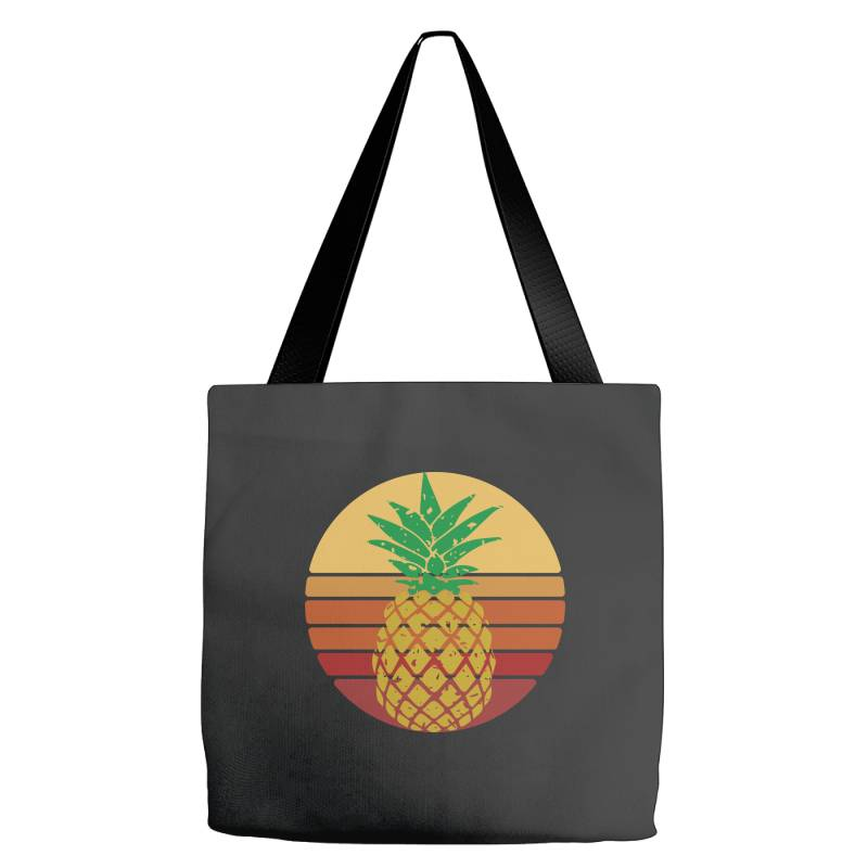 Sunset Pineapple Style Tote Bags | Artistshot