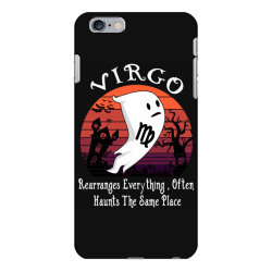 Vintage Ghost Zodiac Virgo Funny Halloween Birthday Gift iPhone 6 Plus/6s Plus Case | Artistshot