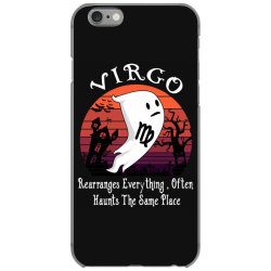 Vintage Ghost Zodiac Virgo Funny Halloween Birthday Gift iPhone 6/6s Case | Artistshot