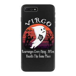 Vintage Ghost Zodiac Virgo Funny Halloween Birthday Gift iPhone 7 Plus Case | Artistshot