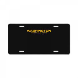 washington football team License Plate | Artistshot