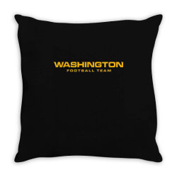 washington football team Throw Pillow | Artistshot