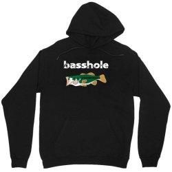 bassshole funny fishing Unisex Hoodie | Artistshot