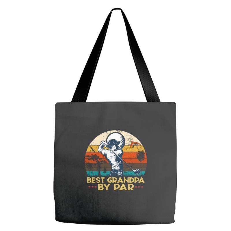 Best Grandpa By Par Golf Tote Bags | Artistshot