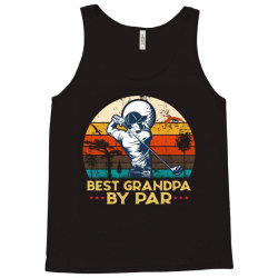 best grandpa by par golf Tank Top | Artistshot