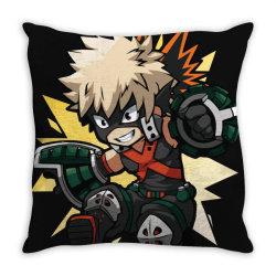 my hero academia _ Boku no Hero Academia _ katsuki Bakugo _ Kachan Throw Pillow | Artistshot