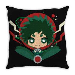 my hero academia _ Boku no Hero Academia _ izuku Midoria Deku Throw Pillow   Artistshot