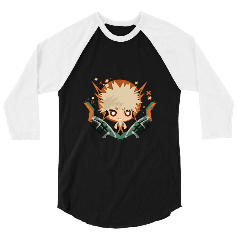 My Hero Academia _ Boku No Hero Academia _ Katsuki Bakugo _ Kachan 3/4 Sleeve Shirt | Artistshot