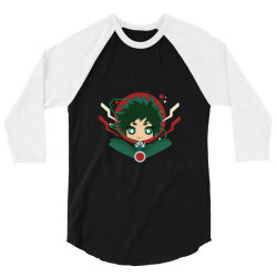 my hero academia _ Boku no Hero Academia _ izuku Midoria Deku 3/4 Sleeve Shirt | Artistshot