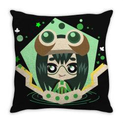 my hero academia _ Boku no Hero Academia _ Tsuyu Asui _ Froppy Throw Pillow | Artistshot