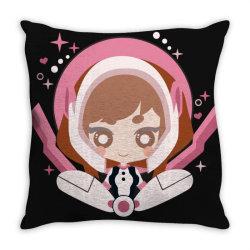 my hero academia _ Boku no Hero Academia _ Ochaco Uraraka Throw Pillow | Artistshot