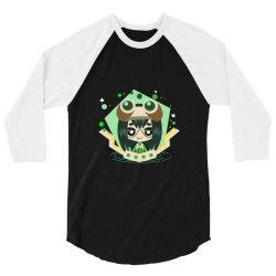 my hero academia _ Boku no Hero Academia _ Tsuyu Asui _ Froppy 3/4 Sleeve Shirt | Artistshot