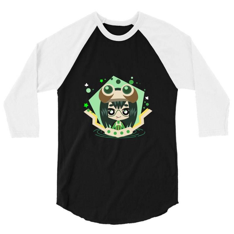 My Hero Academia _ Boku No Hero Academia _ Tsuyu Asui _ Froppy 3/4 Sleeve Shirt   Artistshot