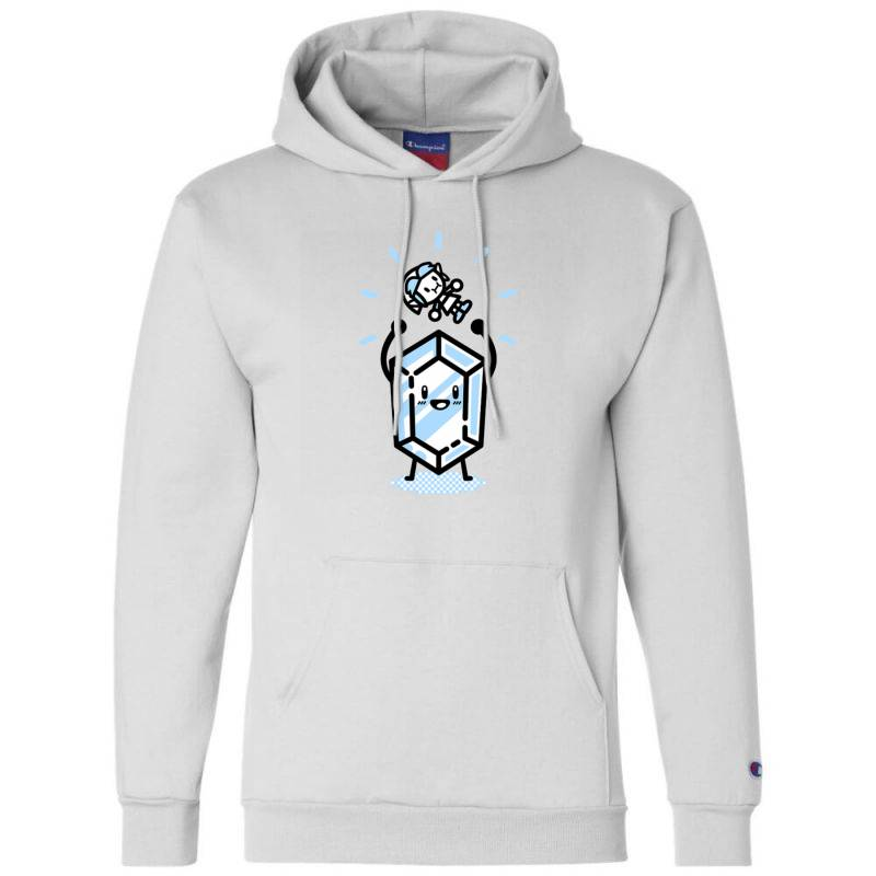 Blue Rupee Finds A Link Champion Hoodie | Artistshot