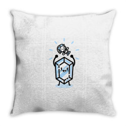 blue rupee finds a link Throw Pillow | Artistshot