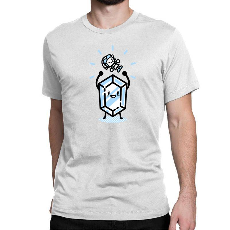 Blue Rupee Finds A Link Classic T-shirt | Artistshot