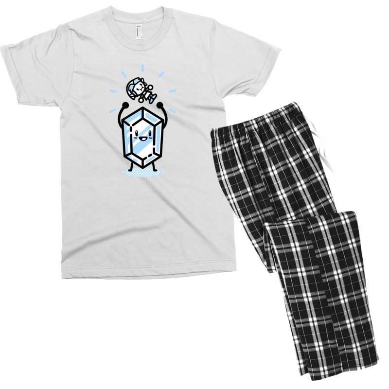 Blue Rupee Finds A Link Men's T-shirt Pajama Set | Artistshot