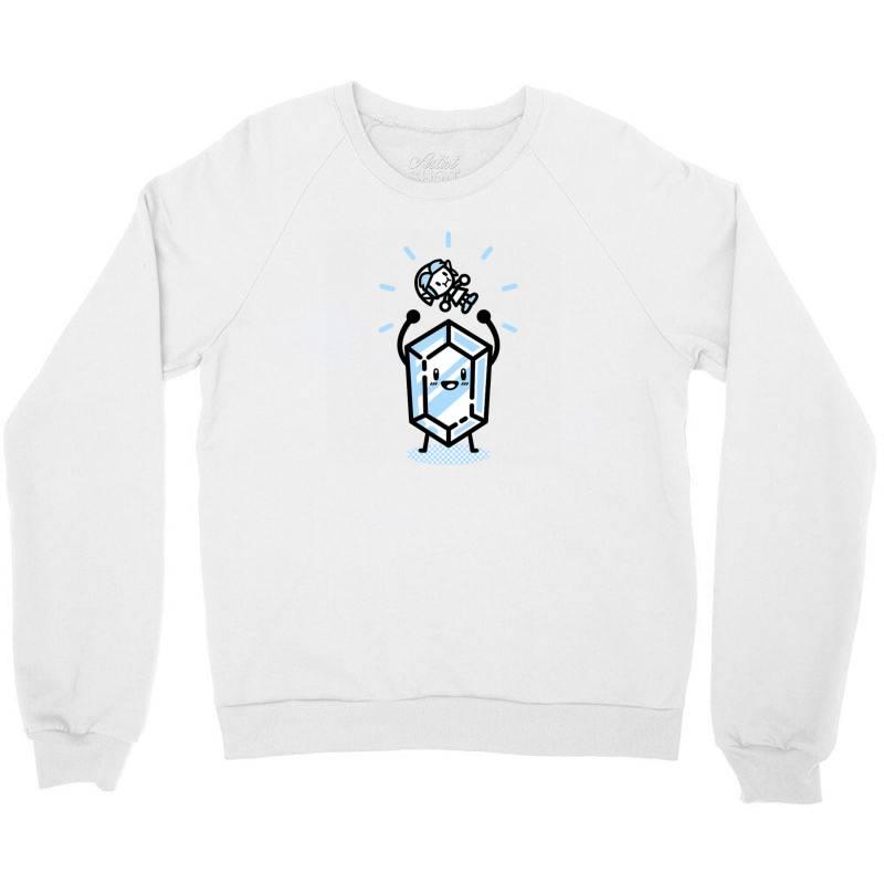 Blue Rupee Finds A Link Crewneck Sweatshirt | Artistshot