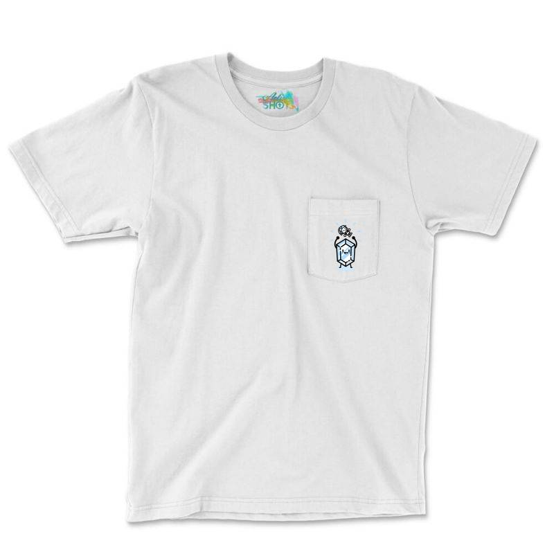 Blue Rupee Finds A Link Pocket T-shirt | Artistshot