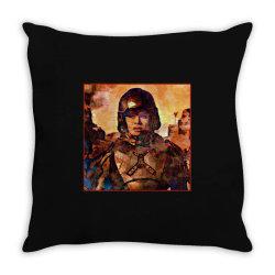 bobbie on mars Throw Pillow | Artistshot