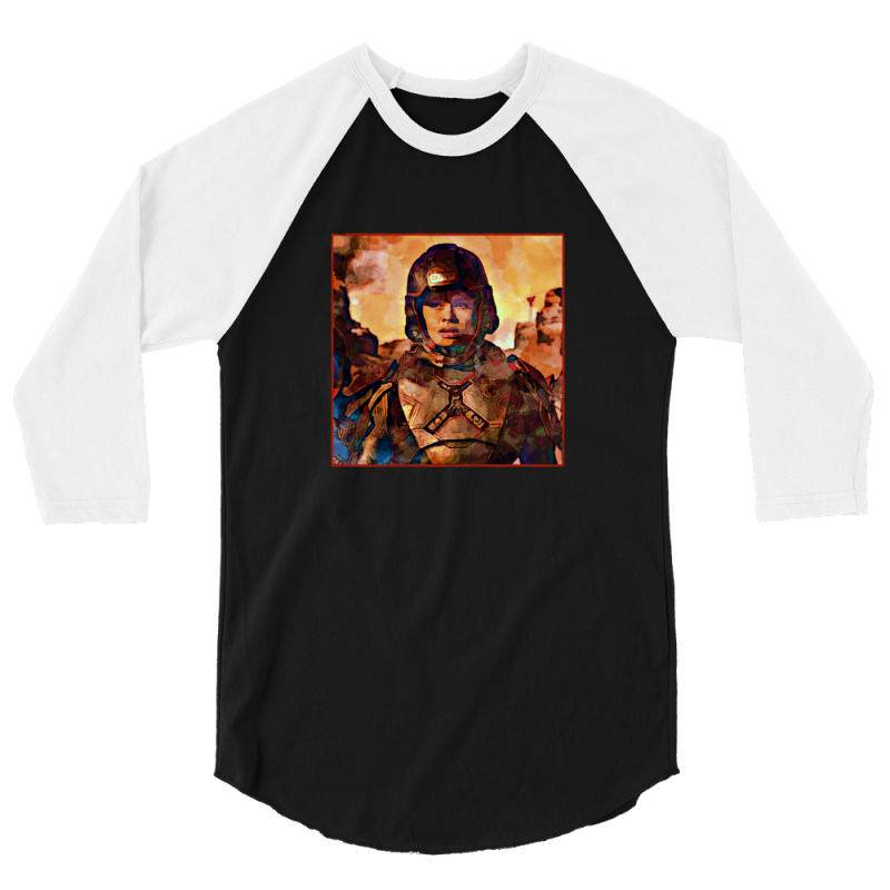 Bobbie On Mars 3/4 Sleeve Shirt | Artistshot