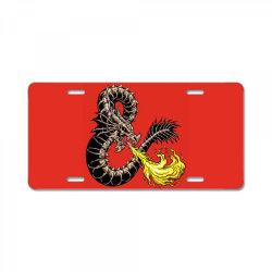 bone dragon License Plate   Artistshot