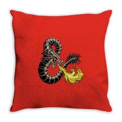 bone dragon Throw Pillow   Artistshot