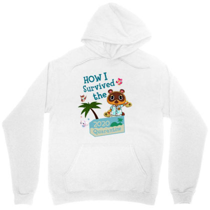 How I Survived The 2020 Quarantine Animal Crossing Unisex Hoodie Designed By Hoainv