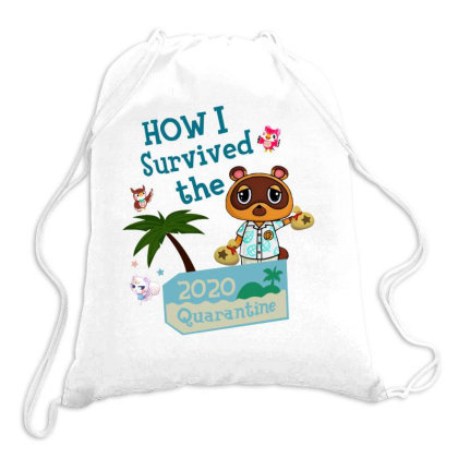 How I Survived The 2020 Quarantine Animal Crossing Drawstring Bags Designed By Hoainv