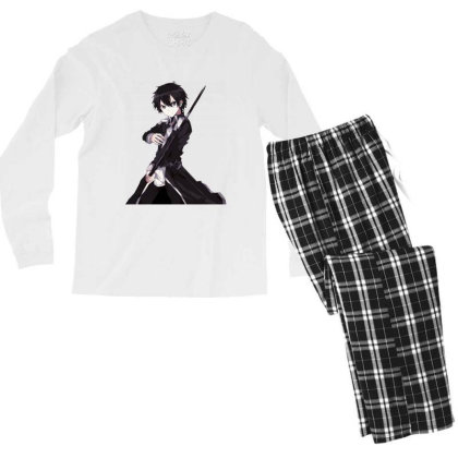 Sword Art Online _ Kirito Men's Long Sleeve Pajama Set Designed By Dc47