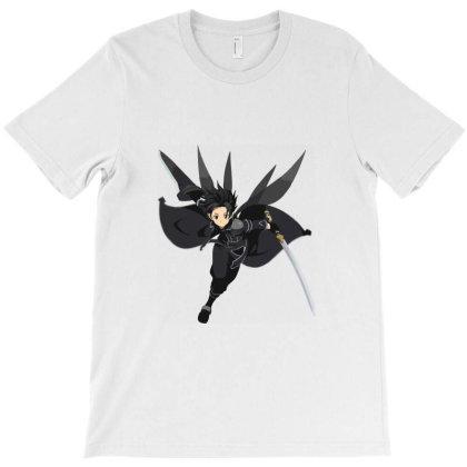 Sword Art Online _ Kirito T-shirt Designed By Dc47
