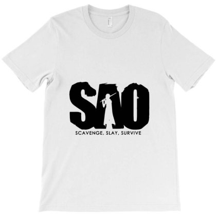 Sword Art Online T-shirt Designed By Dc47
