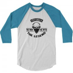 the man  the myth   the legend - grandfather 3/4 Sleeve Shirt | Artistshot