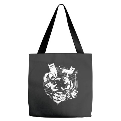 Meowsical Tote Bags Designed By Glitchygorilla