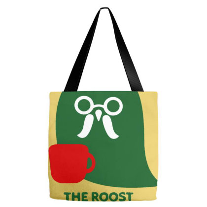 The Roost Animal Cafe Tote Bags Designed By Mina Aksarani