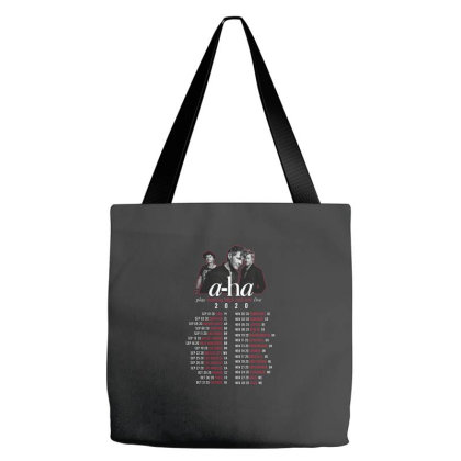 A Ha Band   Play Hunting High And Low Live Tour 2020 Back Tote Bags Designed By Medic870907