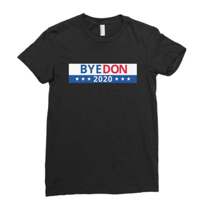 Bye Don Bye Ladies Fitted T-shirt Designed By Andrianisofi