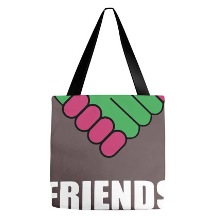 Friends Across Tote Bags Designed By Andrianisofi