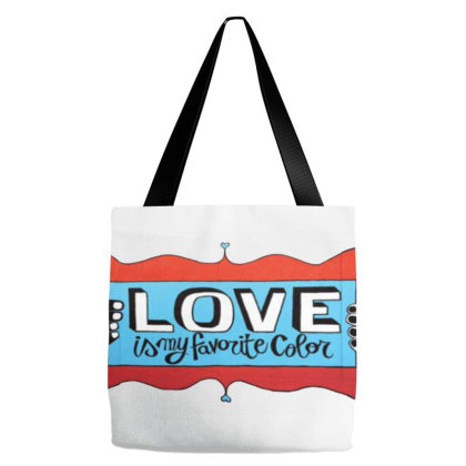 My Favorite Color Tote Bags Designed By Krisshatta