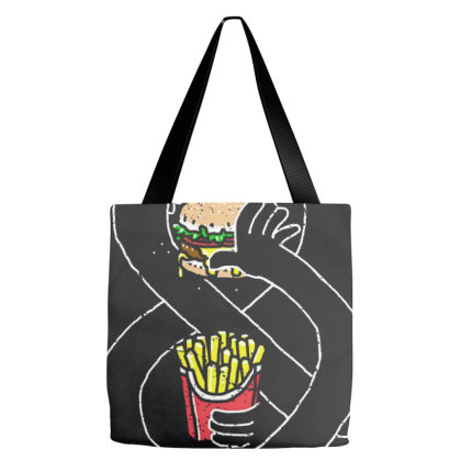 Burger And Fries Tote Bags Designed By Cuser4077