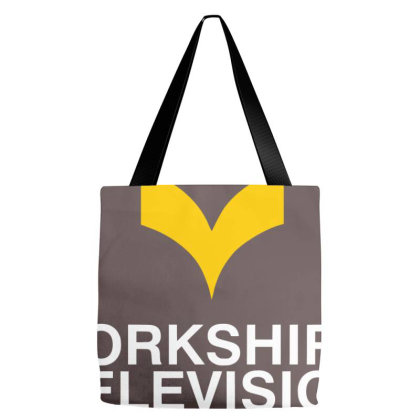 Yorkshire Tv Channel Tote Bags Designed By Krisshatta